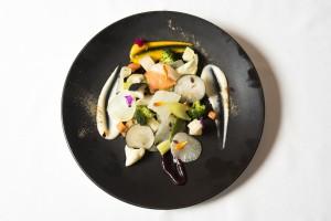Las verduras de Bodega Cigalena